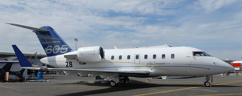 Picture-of-Challenger 605-Aircraft gallery