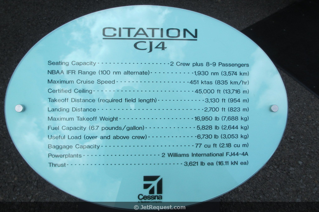 Picture-of-Citation CJ4-Aircraft gallery