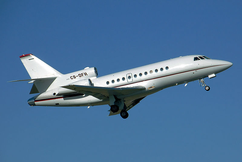 Picture-of-Falcon 900EX-Aircraft gallery