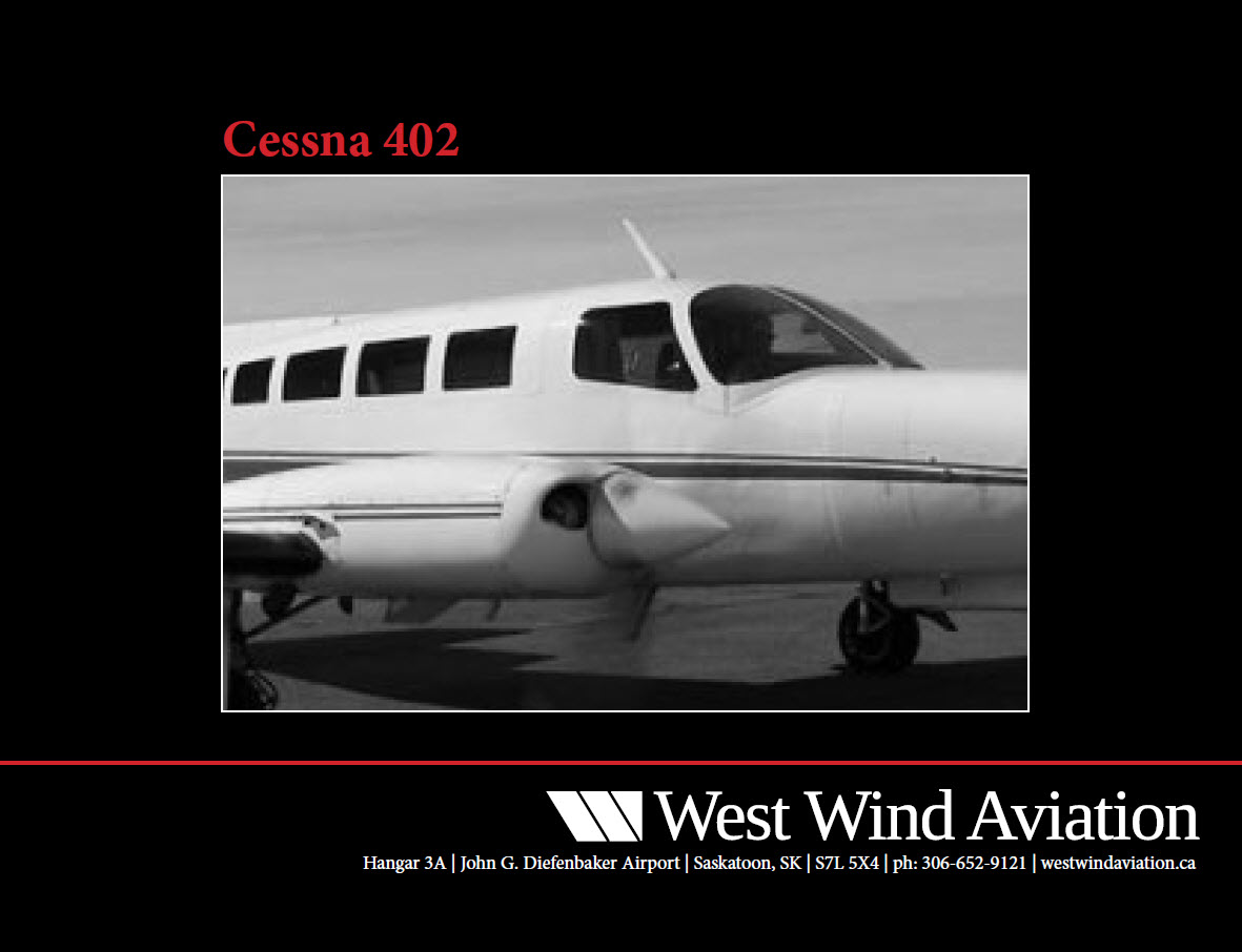 Picture-of-Cessna 402 Business-Utiliner-Aircraft gallery