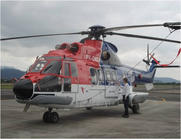 Picture-of-AS332 Super Puma-Aircraft gallery