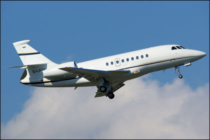 Picture-of-Falcon 2000EX-Aircraft gallery