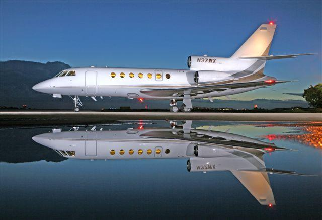 Picture-of-Falcon 50EX-Aircraft gallery