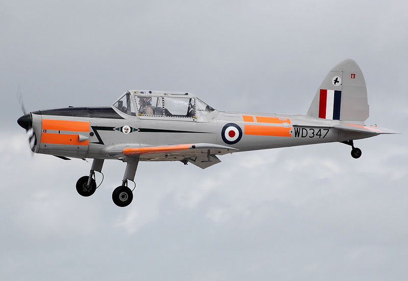 Picture-of-DHC-1 Chipmunk-Aircraft gallery
