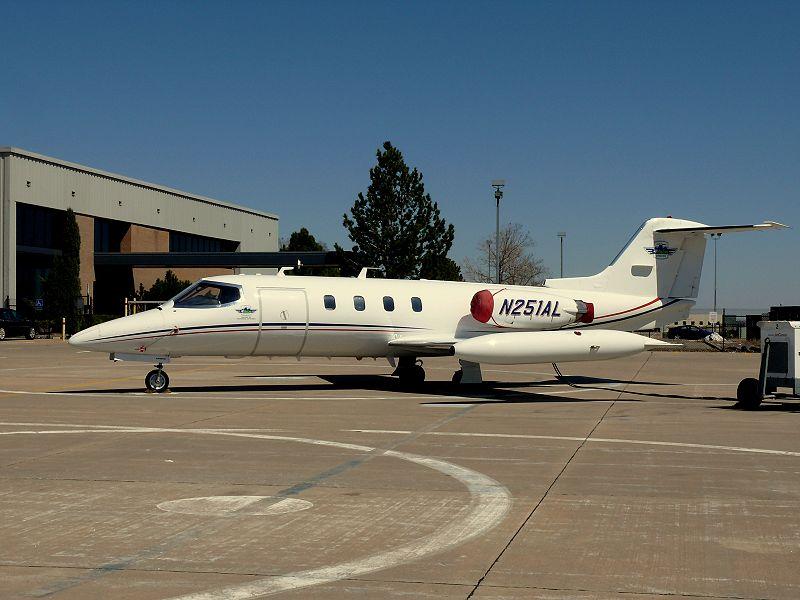 Learjet 35/36 - executive transport