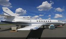 Dassault Falcon 50EX Super Midsize Jet � Private Jet Charter Flights