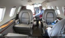 Piaggio P180 Avanti II Turbo Prop � Private Jet Charter Flights